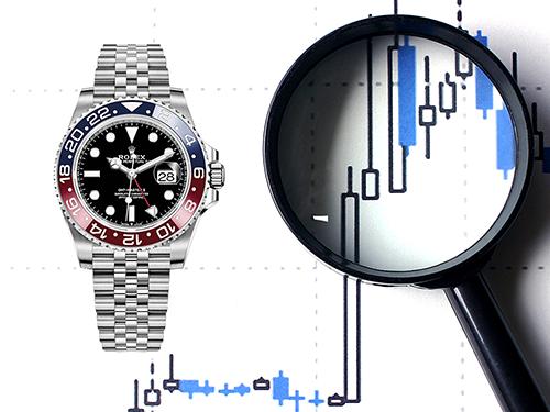 高価査定となるブランド時計 市場の需要