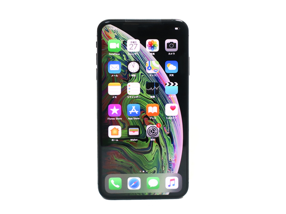Apple iPhoneXS Max 256GB スペースグレイ NT6U2J/A 買取実績 2021.05