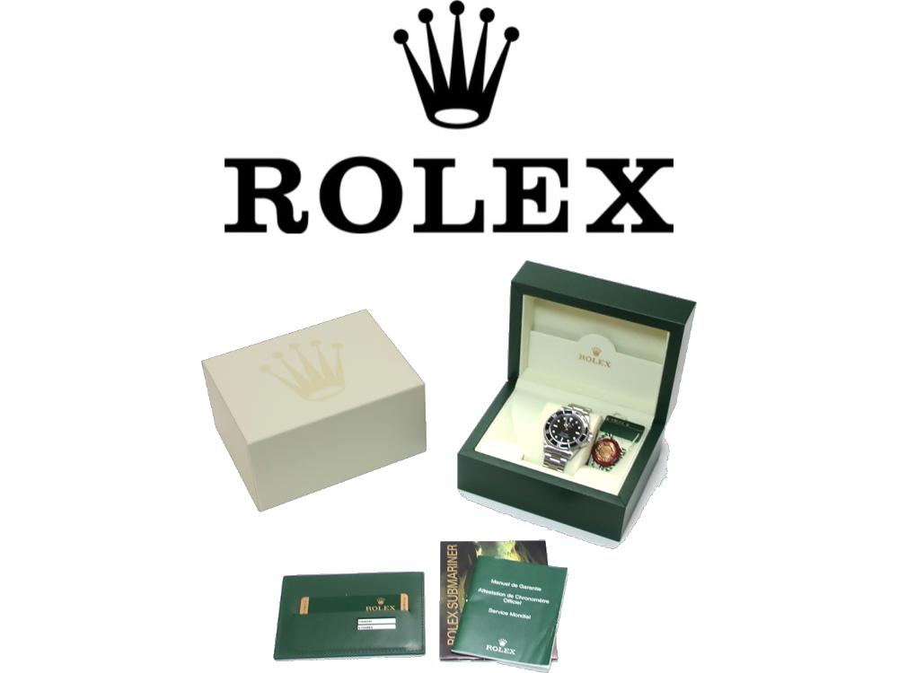 ロレックスは保証書などの付属品がなくても買取可能