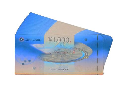 UCギフトカード 1,000円 16枚 買取実績 2021.06