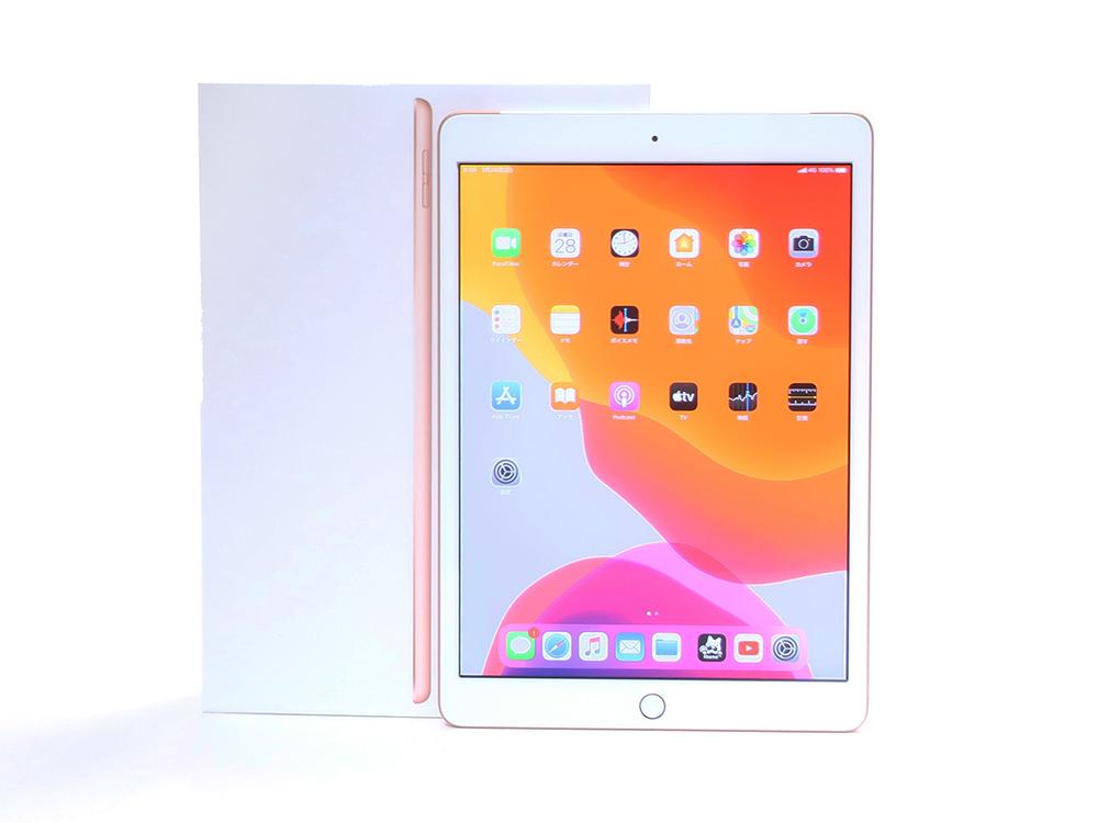 Apple iPad 32GB 10.2インチ 第7世代 Wi-Fi+Cellular ゴールド MW6D2J/A 買取実績 2021.06