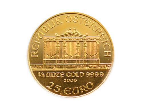 K24C ウィーン金貨1/4oz コイン7.7g 買取実績 2021.07