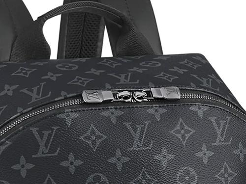【2021年 夏】ルイ・ヴィトンのモノグラム・エクリプス バッグの中で買取りが高いモデル バックパック M43186 マイナーチェンジ ファスナー