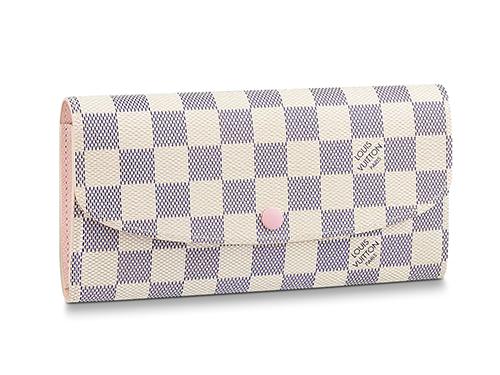 【2021年 秋】ルイ・ヴィトンのダミエ・アズール 財布の中で買取りが高いモデル ポルトフォイユ・エミリー N41625
